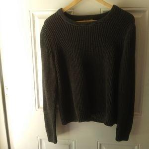 Rag & Bone Knited Sweater w/ pop of color Sz M